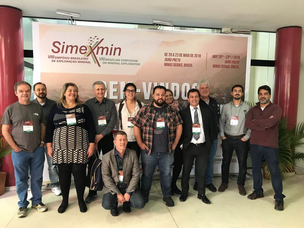 GEOINFORM NA SIMEXMIN 2018 - OURO PRETO/MG SIMEXMIN 2018