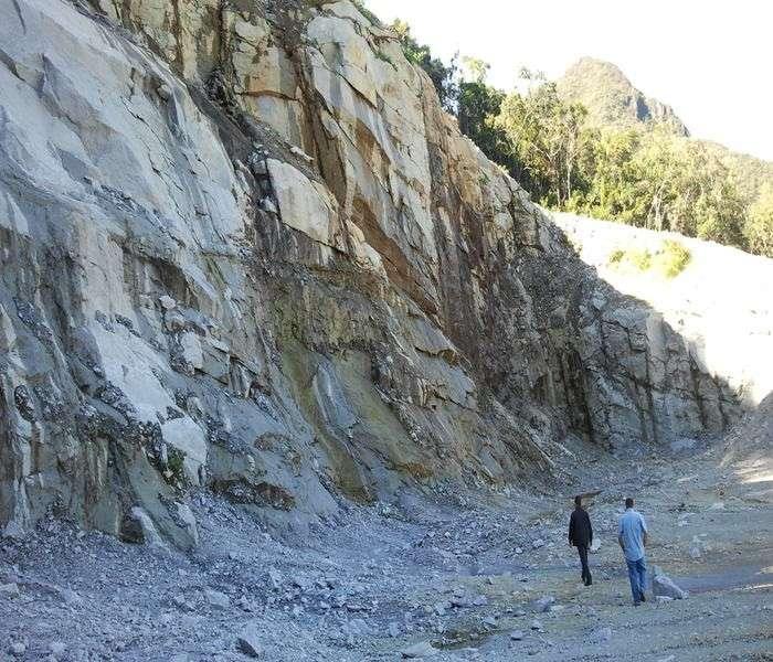 Empresa de geologia